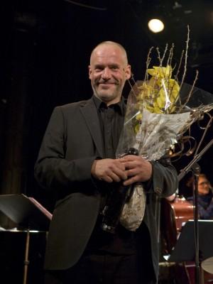 Erlend Skomsvoll ble hedret med Buddy-prisen for 2014 (foto: Francesco Saggio)