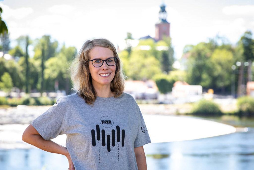Ragnhild Menes, her fra Kongsberg Jazzfestival i fjor. Foto: Thomas Hegna/Kongsberg Jazzfestival