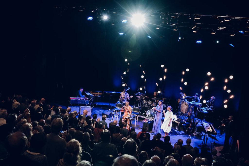 Kongsberg Jazzfestival er blant arrangørene i arrangørstatistikken. Her et foto av