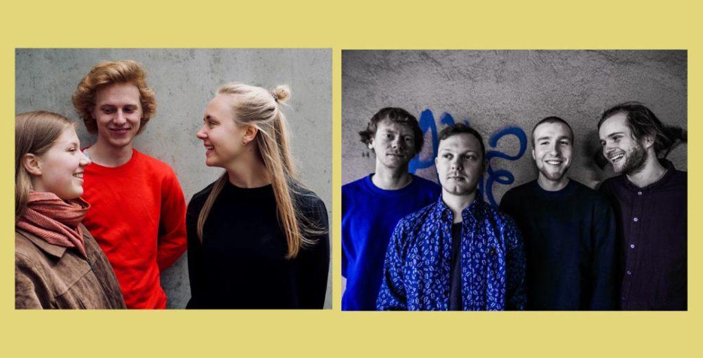 Kongle Trio og Chuck People spiller på den første av fire innledende runder av Jazzintro 2020.
