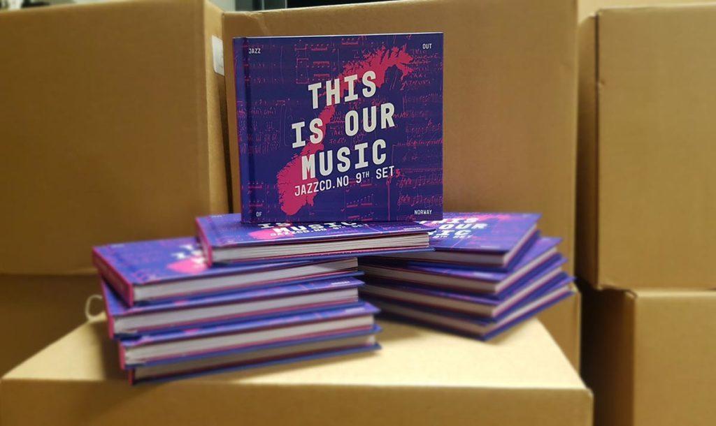 Forrige utgave av JazzCD.no - This is our Music. Design: Nick Alexander