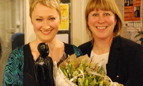 Live Maria Roggen tildelt Buddy-prisen