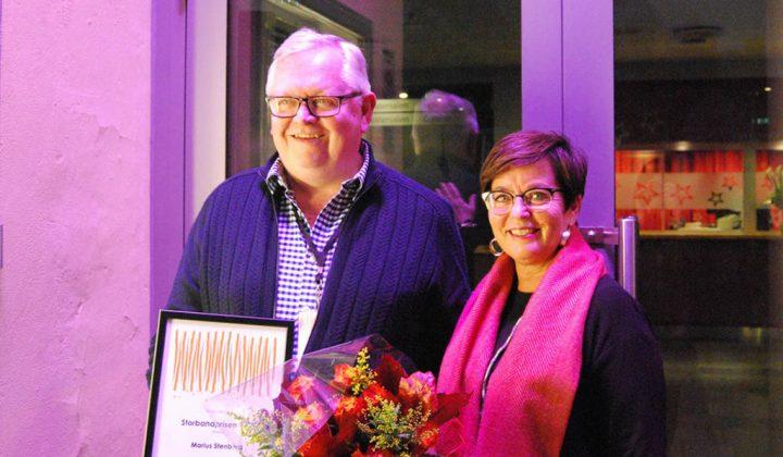 Storbandprisen 2017 tildelt Marius Stenberg