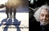 Litterær jazzklubb med Edvard Hoem og John Pål Inderberg Trio